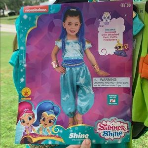 Shimmer and SHINE costume girls 3t-4t